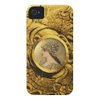 ATHENA AND FIGHTING GRYPHONS iPhone 4 COVER
