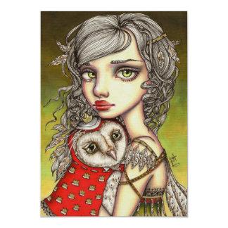 Athena and her Royal Companion Card