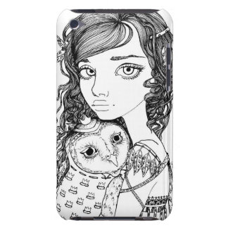 Athena and her Royal Companion iPod Touch Case