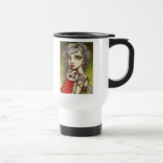 Athena and her Royal Companion Travel Mug