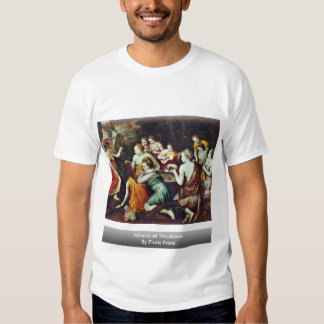 Athena At The Muses By Floris Frans T-Shirt