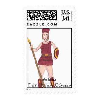 Athena, AthenaFrom Homer's Odyssey Postage