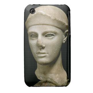 Athena de Aegina, llevando un casco, jefe de a iPhone 3 Carcasas