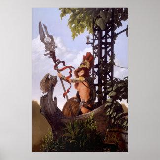 Athena de J. Matthew Root Posters