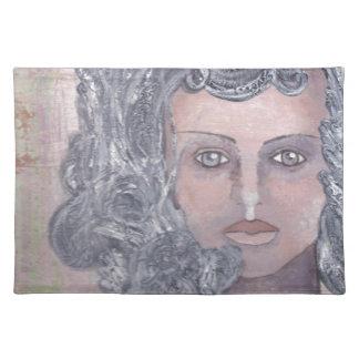 Athena el gris manteles individuales