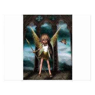 Athena Fairy Postcard