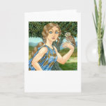 Athena Glaukopis Greeting Card