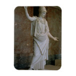 Athena, Greek, probably 5th century BC (marble) Magnet