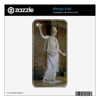 Athena, Greek, probably 5th century BC (marble) Skin For The iPhone 4