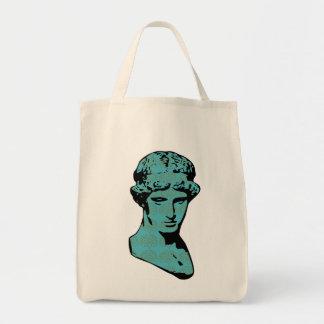 Athena Marble Statue Tote Bag