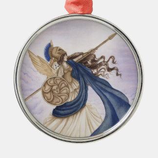 Athena Metal Ornament