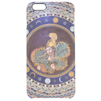 Athena mosaic in the Vatican Museums Clear iPhone 6 Plus Case