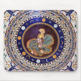 Athena mosaic in the Vatican Museums Mouse Pad