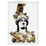 ATHENA PALLAS GREETING CARD