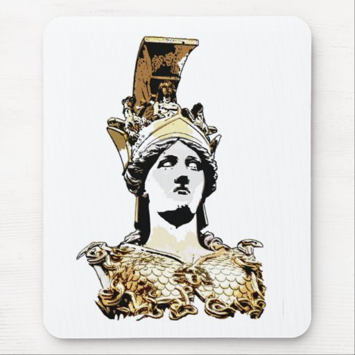 ATHENA PALLAS MOUSE PAD