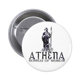 Athena Pin Redondo De 2 Pulgadas
