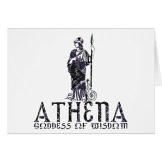Athena Tarjeta De Felicitación