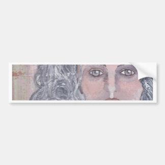 Athena the Grey Bumper Sticker
