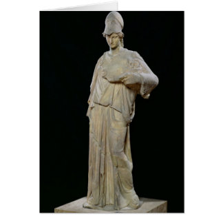 Athena with a cist, Roman copy of a 4th century Card