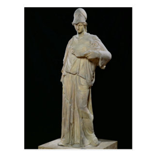 Athena with a cist, Roman copy of a 4th century Postcard