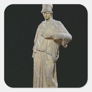 Athena with a cist, Roman copy of a 4th century Square Sticker