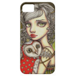 Athena y su compañero real iPhone 5 Case-Mate coberturas