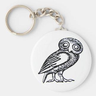 Athena's Owl Key Chains