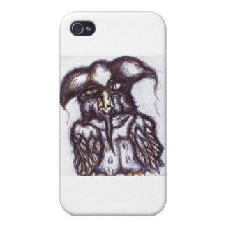 Athenas Owl of The Examined Life iPhone 4 Cases