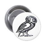 Athena's Owl Pins