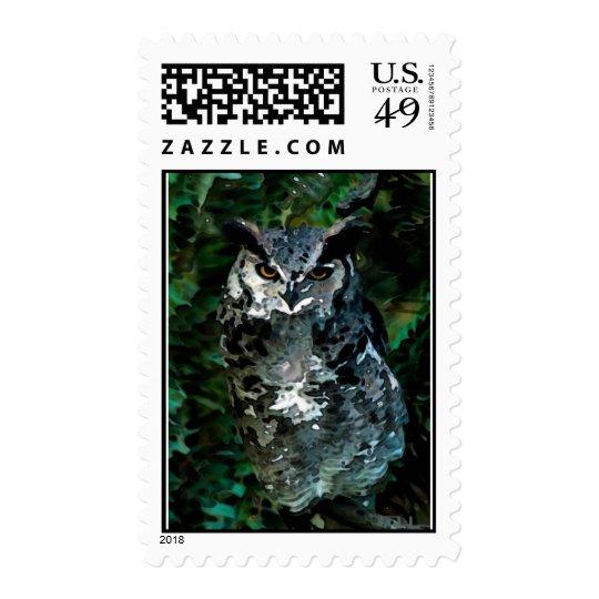 Athena's owl takes care postage