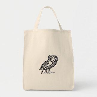 Athena's Owl Tote Bag