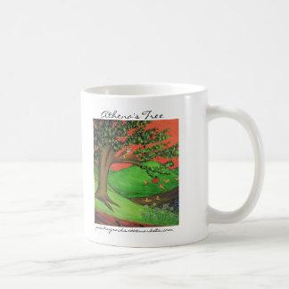 Athena's Tree Classic White Coffee Mug