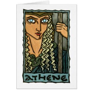 Athene Tarjeta De Felicitación