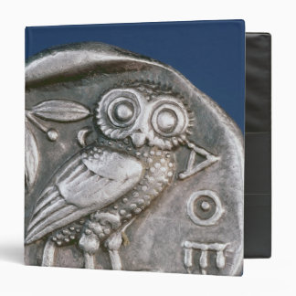 Athenian tetradrachma 3 ring binder