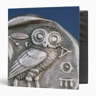 Athenian tetradrachma binder