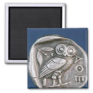 Athenian tetradrachma fridge magnets