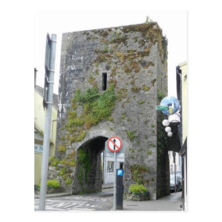 Athenry's medieval North Gate - Ireland Postcard