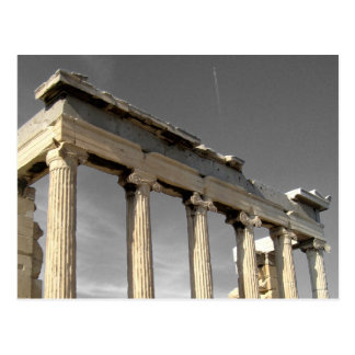 athens - acropolis postcard