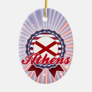 Athens, AL Christmas Tree Ornament