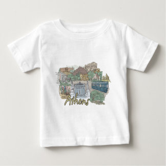 Athens Baby T-Shirt