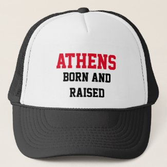 Athens Born and Raised Trucker Hat