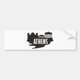 Athens Bumper Sticker