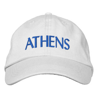 Athens Embroidered Baseball Caps