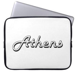 Athens Georgia Classic Retro Design Laptop Computer Sleeves