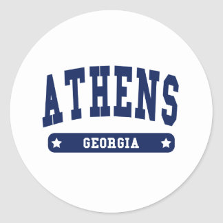 Athens Georgia College Style t shirts Stickers