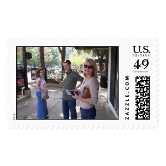 Athens Georgia cool people Postage Stamp