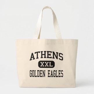 Athens - Golden Eagles - High - Athens Alabama Canvas Bags