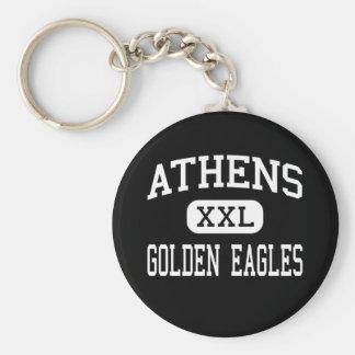 Athens - Golden Eagles - High - Athens Alabama Keychain