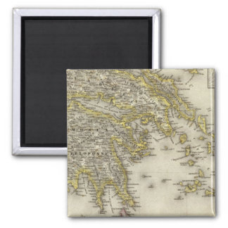 Athens, Greece 2 Inch Square Magnet