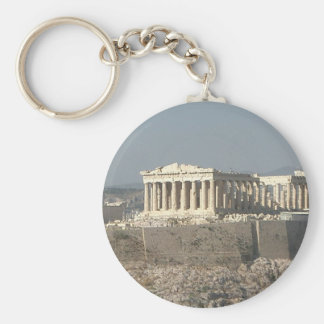 Athens--Greece-ancient-history-585526_1279_957.jpg Basic Round Button Keychain